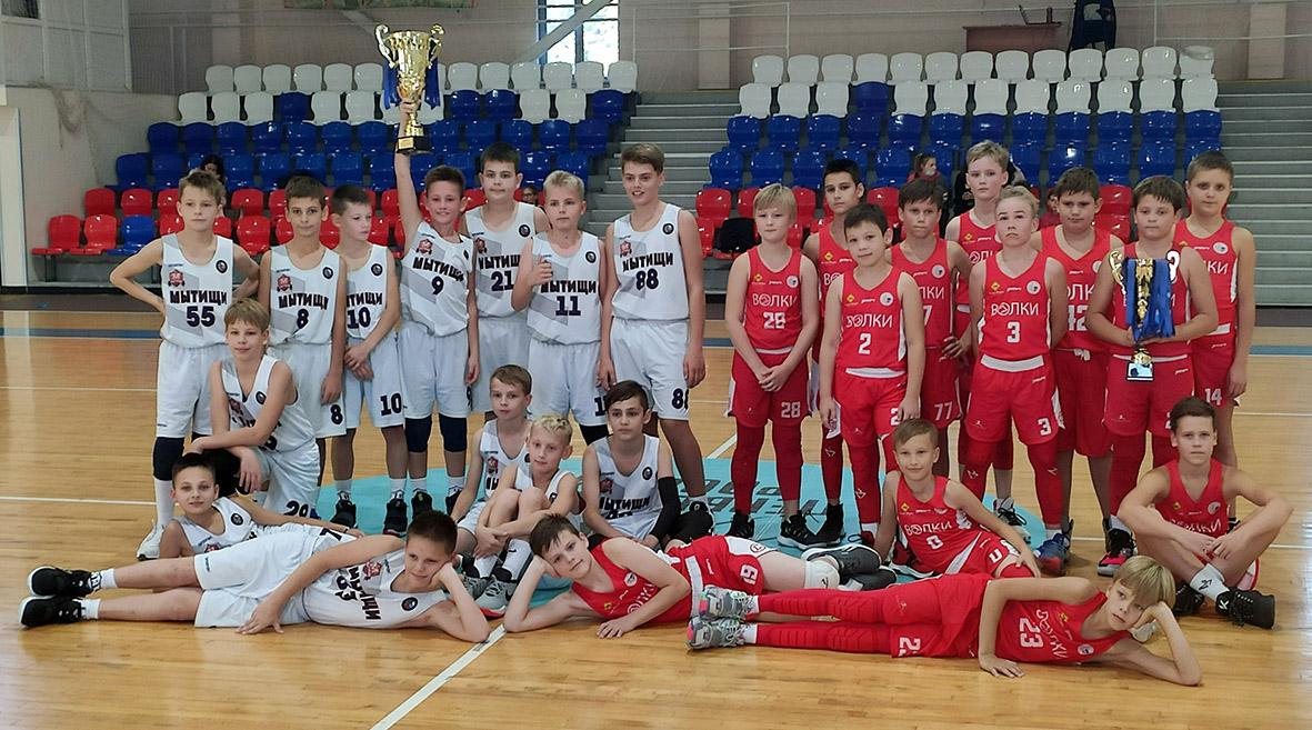 Золото и серебро Первенства МО по баскетболу среди юношей 2009 г.р. сезона 2019/20