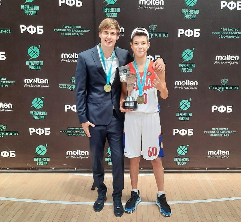 Чемпион России по баскетболу среди юношей 2007 г.р. сезона 2019-2020