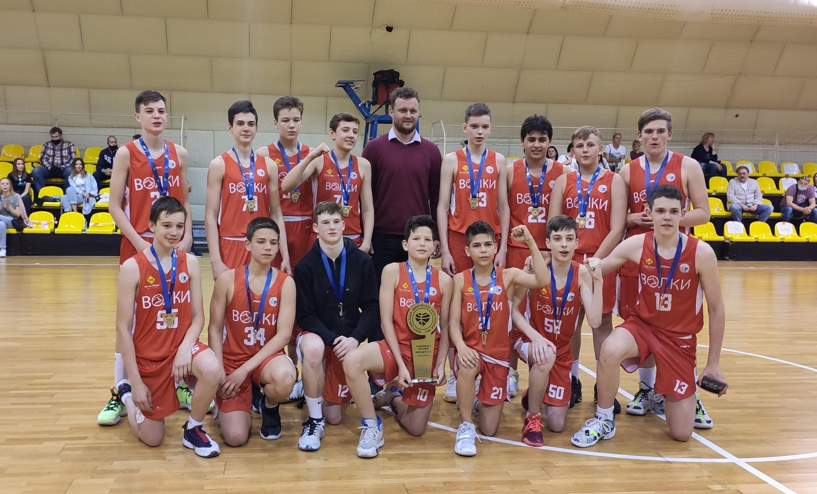Чемпионы МЛБЛ-ДЕТИ U15 сезона 2021-2022
