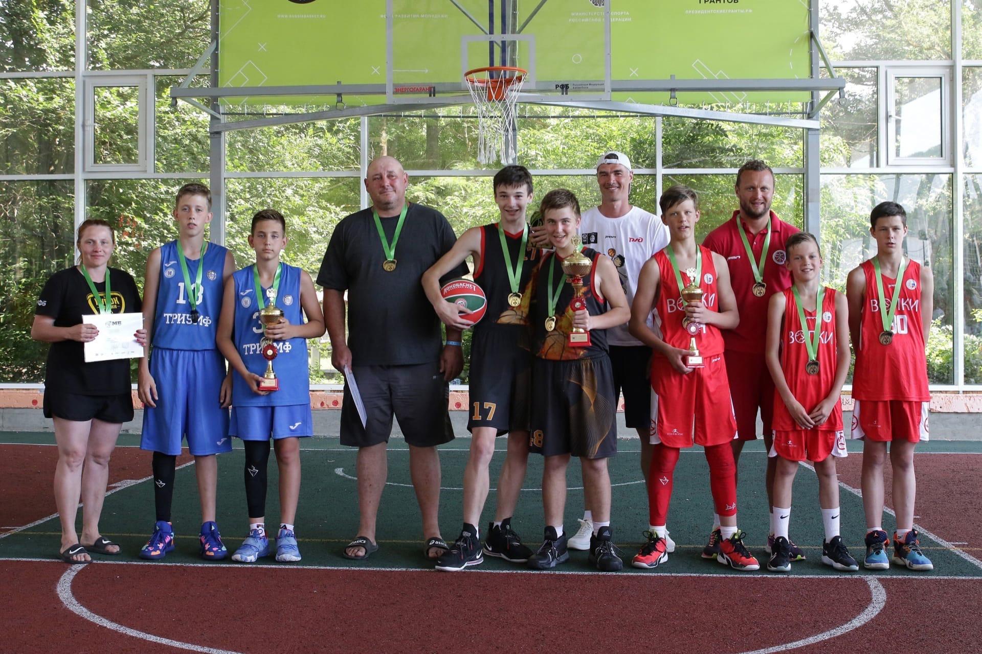 Призеры стритбола 2 х 2, Минибаскет 2008 г.р., г. Сукко