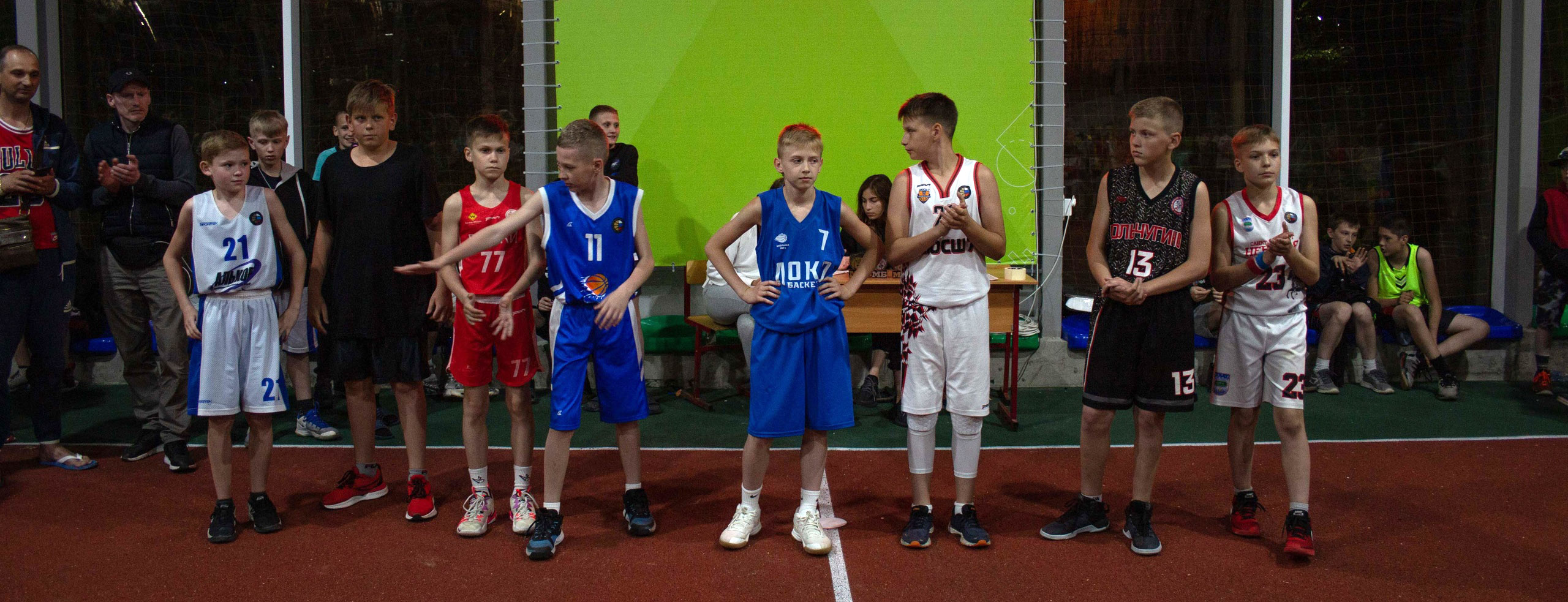 Финалисты конкурса Точки, Минибаскет'09, 07.06.2021
