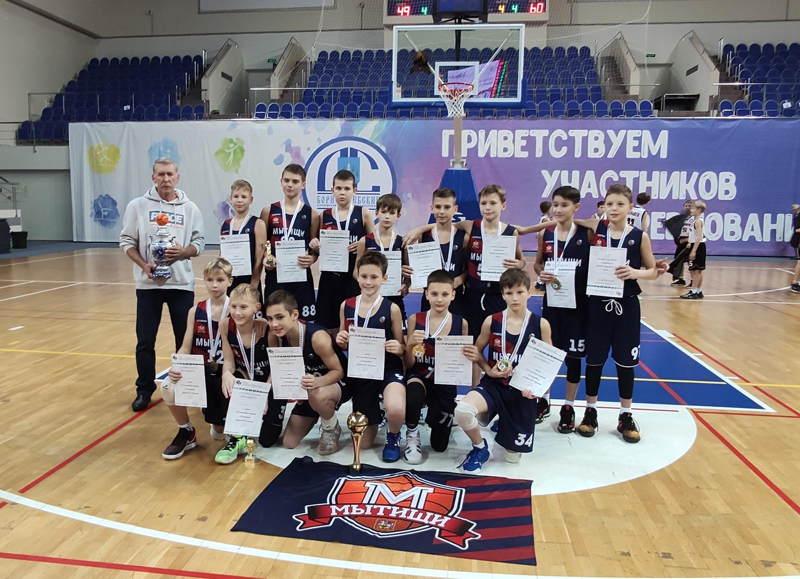 Команды Мытищи - победители Кубка Королева